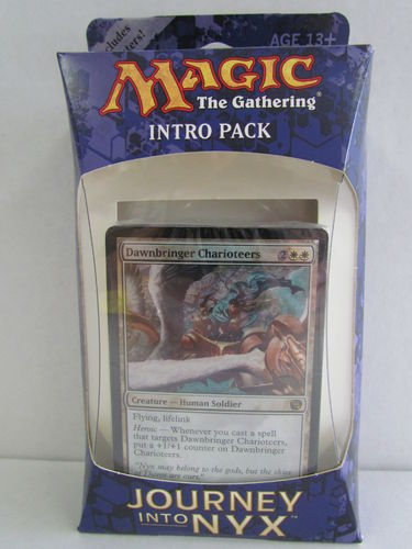 Magic the Gathering Journey Into Nyx Intro Pack MORTALS OF MYTHS