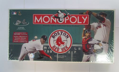BOSTON RED SOX Collector's Edition Monopoly