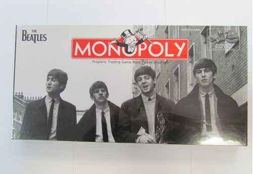 BEATLES Collector's Edition Monopoly (shrink wrap slightly torn)
