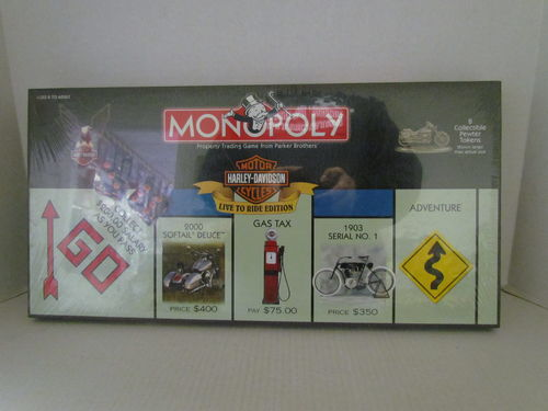 HARLEY DAVIDSON Live to Ride Monopoly