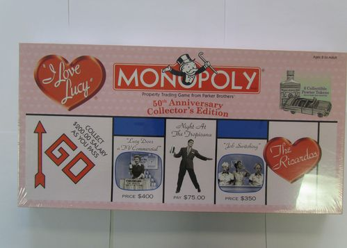 I LOVE LUCY 50TH ANNIVERSARY Monopoly