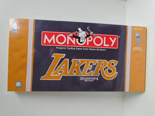 LOS ANGELES LAKERS Collector's Edition Monopoly