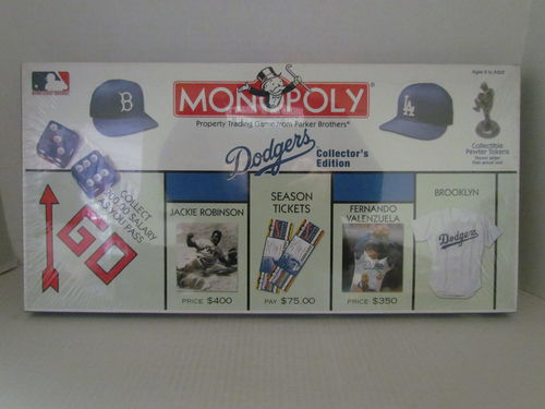 DODGERS Collector's Edition Monopoly