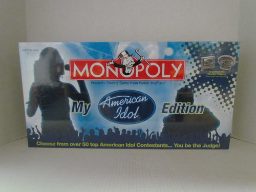 MY AMERICAN IDOL Monopoly