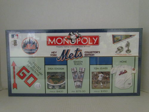 NEW YORK METS Collector's Edition Monopoly