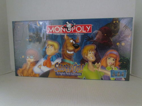 SCOOBY-DOO! FRIGHT FEST Monopoly