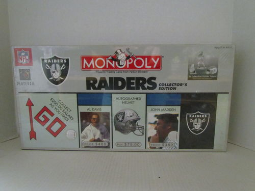 RAIDERS Collector's Edition Monopoly