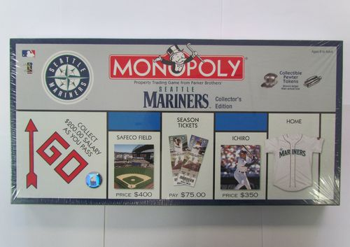 SEATTLE MARINERS Monopoly