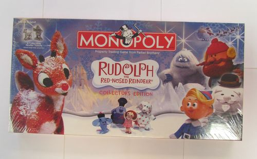 RUDOLPH THE RED NOSED REINDEER Monopoly 2005