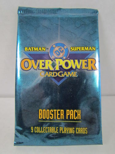 Fleer DC Overpower Batman/Superman Booster Pack