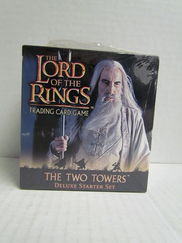 Lord of the Rings Trading Card Game The Two Towers Deluxe Starter Set