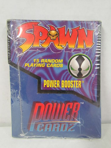 Spawn Power Cardz Trading Card Game Booster Pack