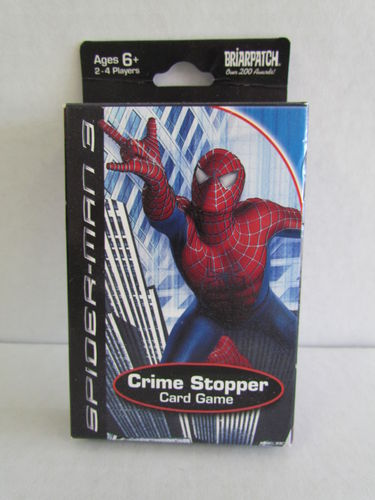 Spider-man 3 Crime Stopper Card Game