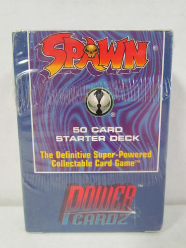 Spawn Power Cardz Trading Card Game Starter Deck