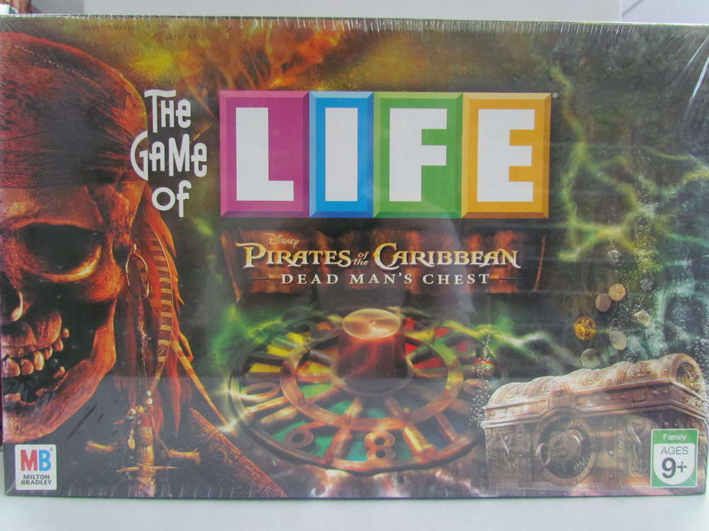 The Game of Life Pirates of the Caribbean: Dead Man's Chest Game