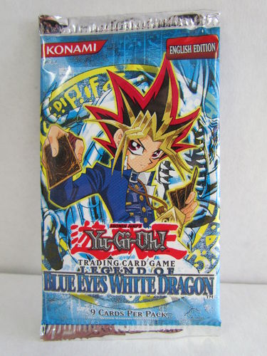 YuGiOh Blue Eyes White Dragon Booster Pack