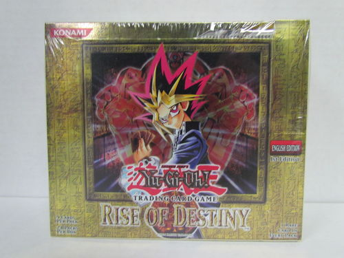YuGiOh Rise of Destiny 1st Edition Booster Box