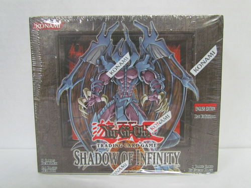 YuGiOh Shadow of Infinity 1st Edition Booster Box