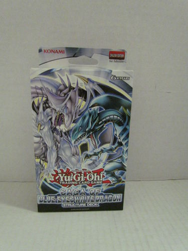YuGiOh Saga of Blue-Eyes White Dragon Structure Deck