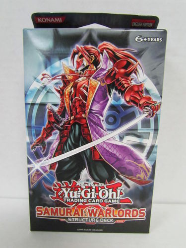 YuGiOh Samurai Warlords 1st Edition Structure Deck