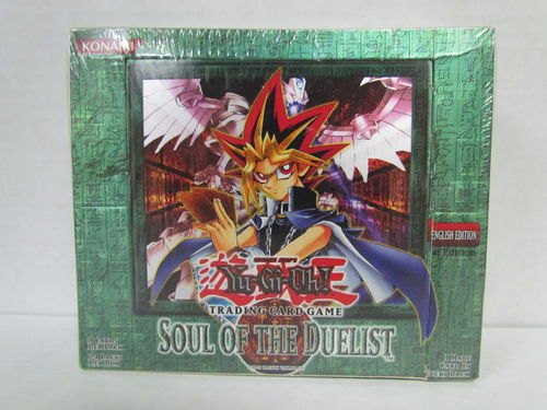 YuGiOh Soul of the Duelist 1st Edition Booster Box