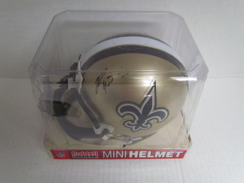 RICKY WILLIAMS Authographed Mini Helmet