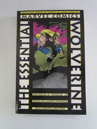 The Essential Wolverine Volume 1