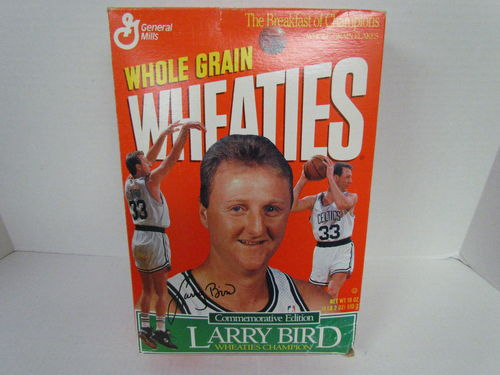 Wheaties LARRY BIRD Commemorative Edition Box