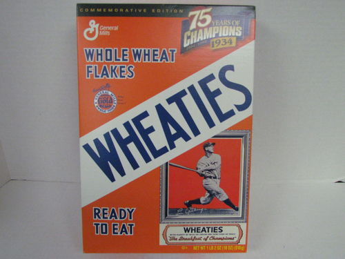 Wheaties LOU GEHRIG Commemorative Edition Box