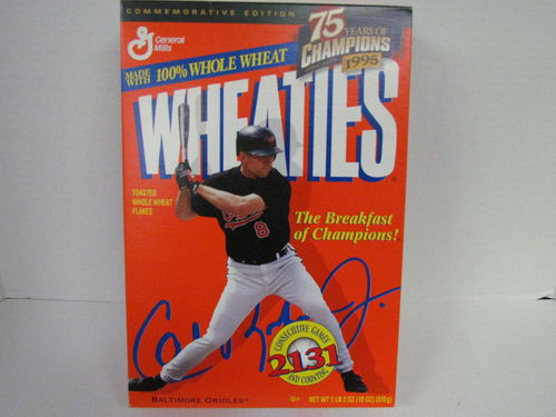 Wheaties CAL RIPKEN JR. Commemorative Edition Box