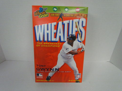 Wheaties TONY GWYNN Hall of Fame Box
