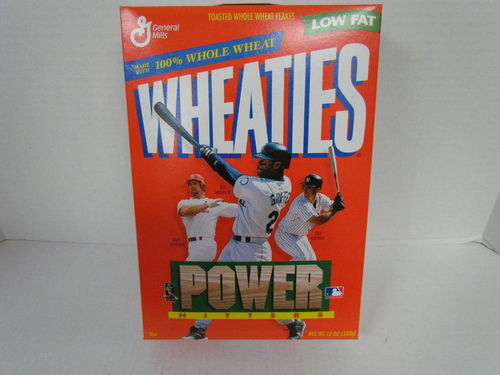 Wheaties Power Hitters Box