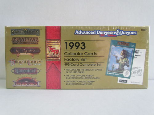 1993 TSR Advanced Dungeons and Dragons Fantasy Collector Card Factory Set