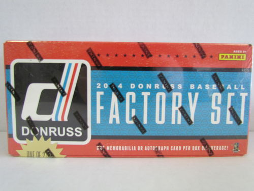 2014 Panini Donruss Baseball Factory Set