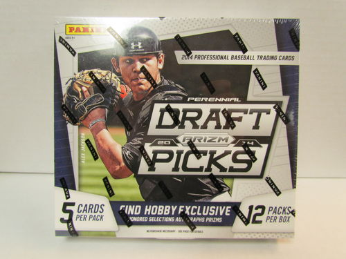 2014 Panini Prizm Draft Picks Baseball Hobby Box