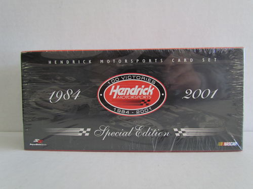 2001 Super Shots Sports Hendrick Motorsports 100 Victories Silver Edition Box Set