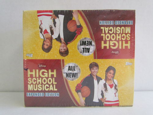 Topps Disney High School Musical Expanded Edition Box