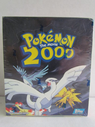 Topps Pokemon The Movie 2000 Trading Card Box