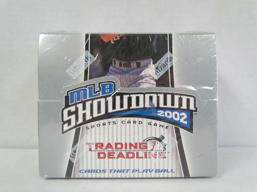 Wizards of the Coast MLB Showdown 2002 Trading Deadline Booster Box