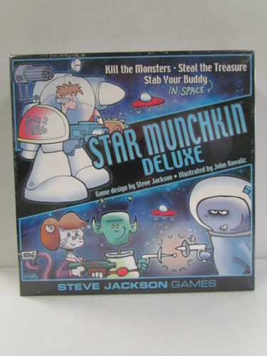 Star Munchkin Deluxe Game