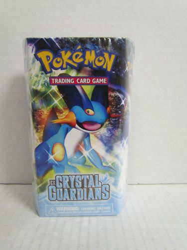 Pokemon EX Crystal Guardians EARTH SHOWER Theme Deck