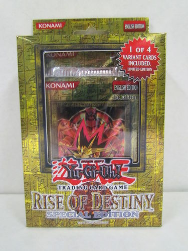 YuGiOh Rise of Destiny Special Edition Pack