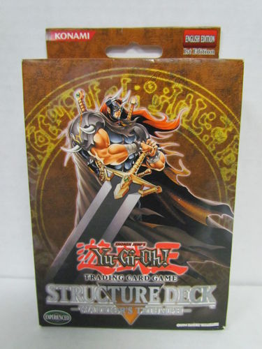 YuGiOh Warrior's Triumph 1st Edition Structure Deck