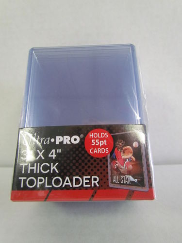 Top Loader - 3x4 Thick 55 Point