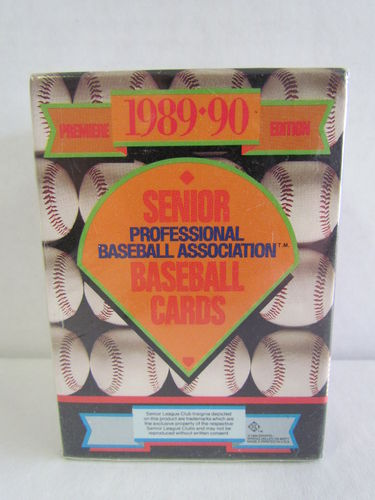 1989 T&M Sports Senior Professional Baseball Factory Set