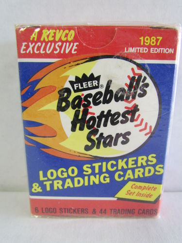 1987 Fleer Baseball's Hottest Stars Factory Set