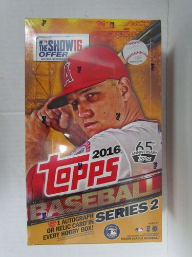 2016 Topps Series 2 Baseball Hobby Box