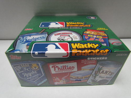 Topps Wacky Packages (2016 - Baseball) Hobby Box