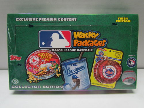 Topps Wacky Packages (2016 - Baseball) Collector's Edition Box