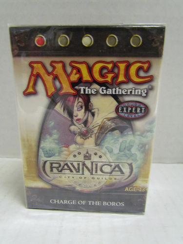 Magic the Gathering Ravnica Theme Deck CHARGE OF THE BOROS